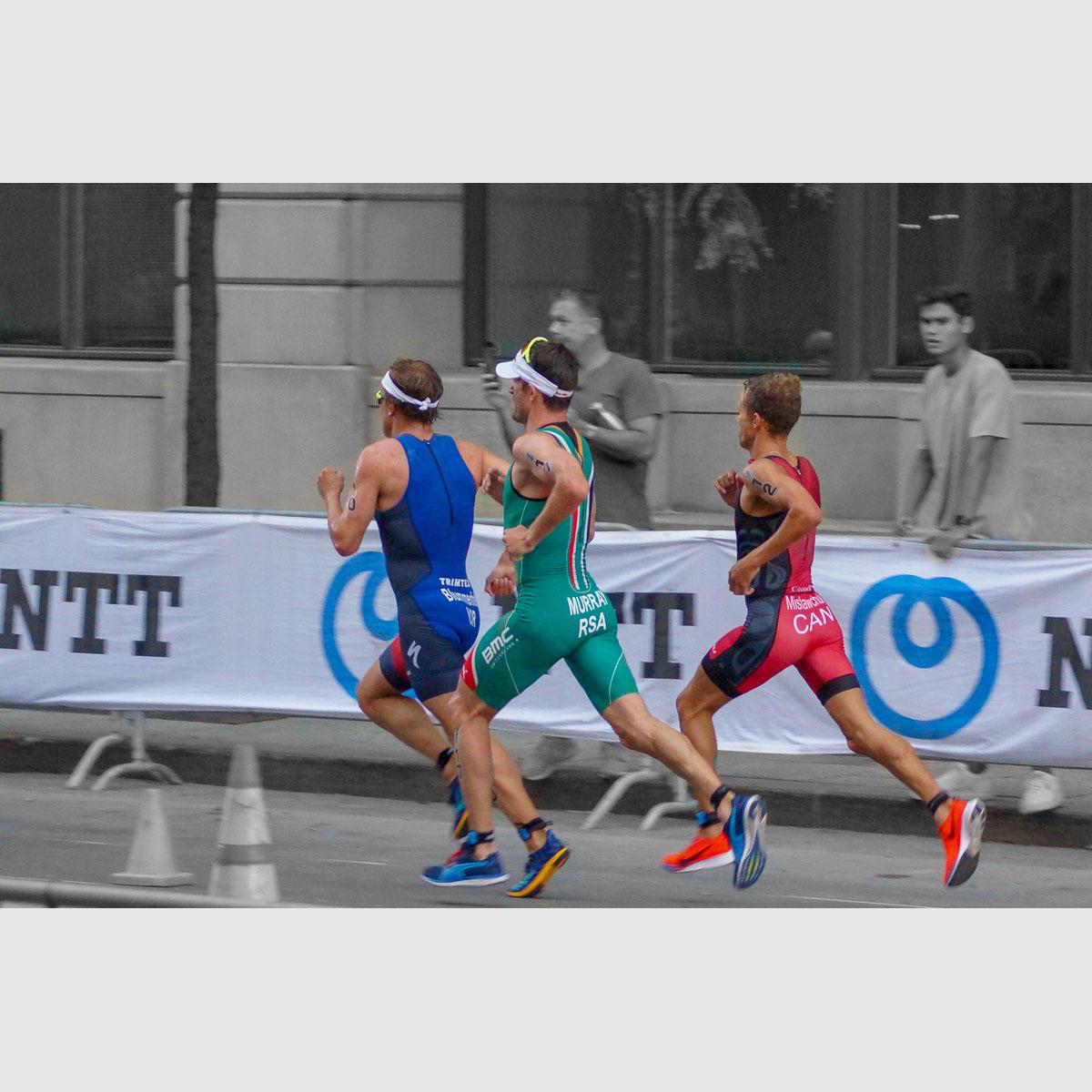 Blummenfelt, Murray and Mislawchuk battle for first running
